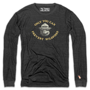 SMOKEY BEAR - PREVENT WILDFIRES LONG SLEEVE (UNISEX)