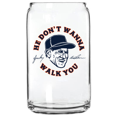 SPARKY ANDERSON GLASS CAN