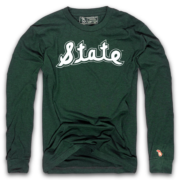 MSU - 1979 SCRIPT LONG SLEEVE  (UNISEX)