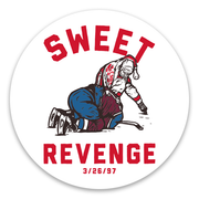 McCARTY - SWEET REVENGE STICKER