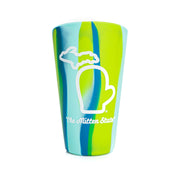SILICONE PINT CUP - SEA SWIRL