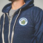 UofM - WOLVERBEAR PATCH ZIP-UP (UNISEX)