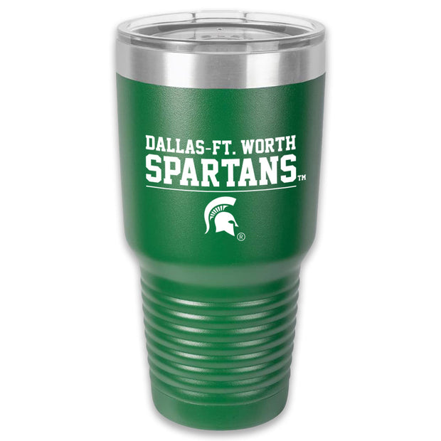 MSU - DALLAS-FT. WORTH SPARTANS 30 OZ TUMBLER