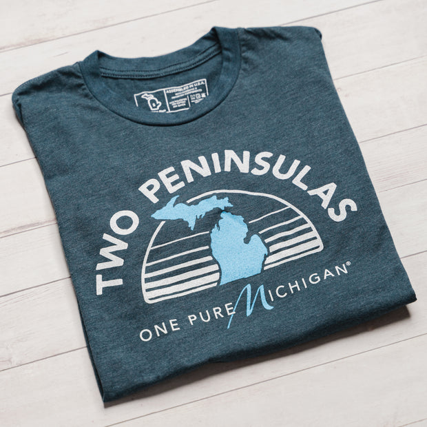 TWO PENINSULAS. ONE PURE MICHIGAN. (UNISEX)