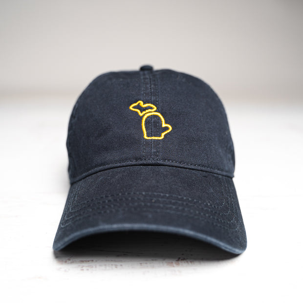 HAT - MAIZE AND NAVY