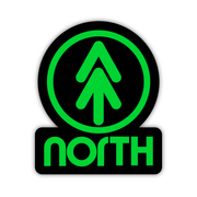 UP NORTH STICKER