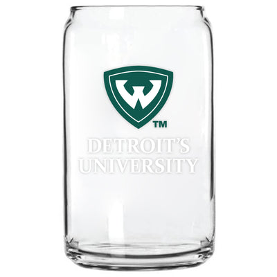 WAYNE STATE - GLASS CAN
