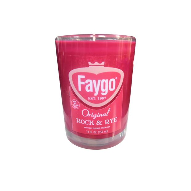 FAYGO CANDLE - ROCK AND RYE