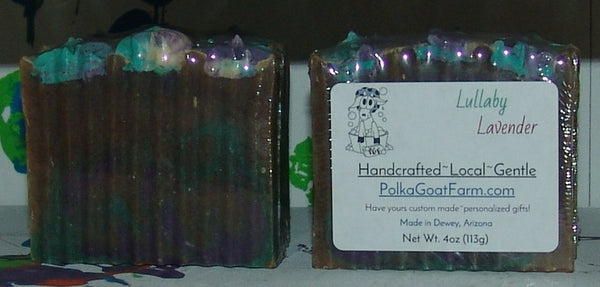 Lullaby Lavender Goat Milk Soap