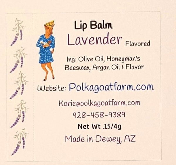 Lavender Infused Lip Balm