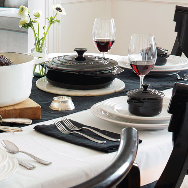Le Creuset Black & White Collection