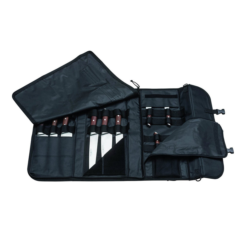 Boker Forge 7-Pc Knife Bag Set - Maple Wood