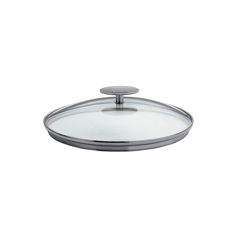 "Cristel Casteline/Mutine 10"" Domed Glass Lid"