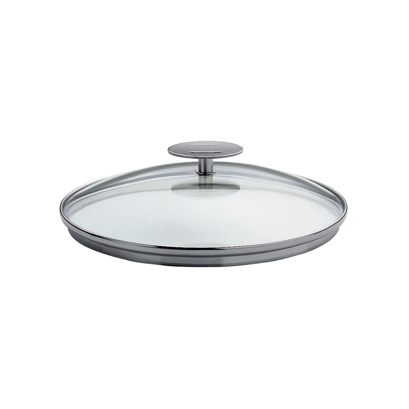 "Cristel Casteline/Mutine 12"" Domed Glass Lid"