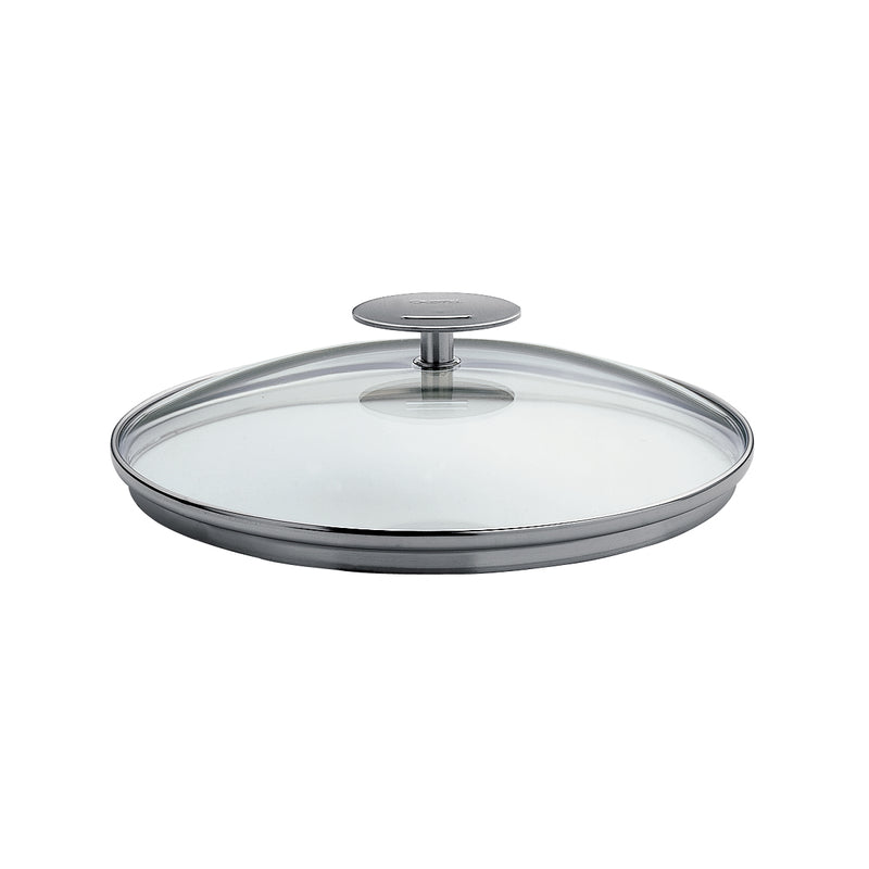 "Cristel Casteline/Mutine 12.5"" Domed Glass Lid"