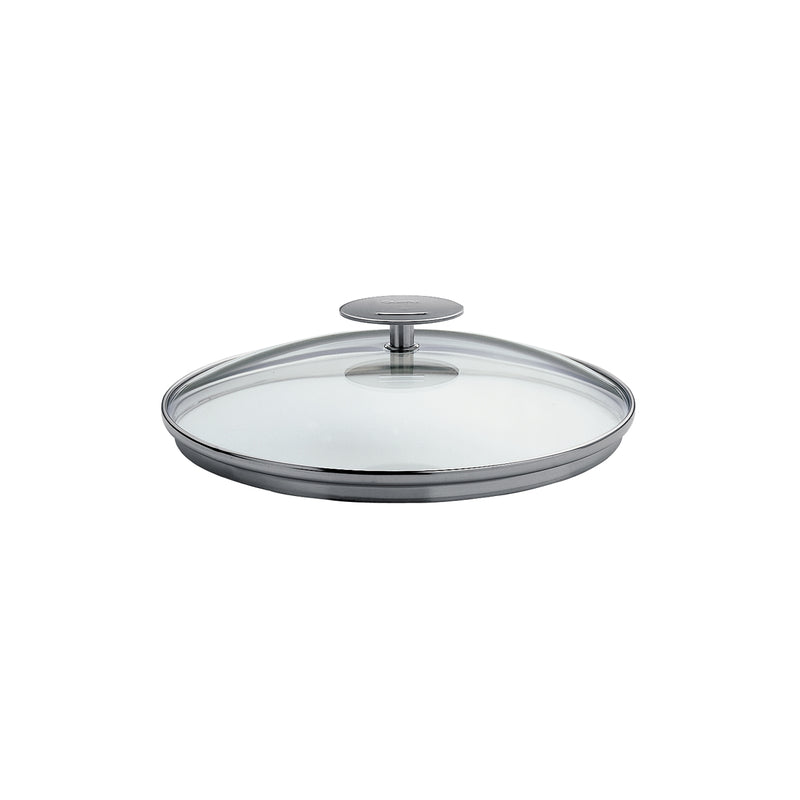 "Cristel Casteline/Mutine 9.5"" Domed Glass Lid"