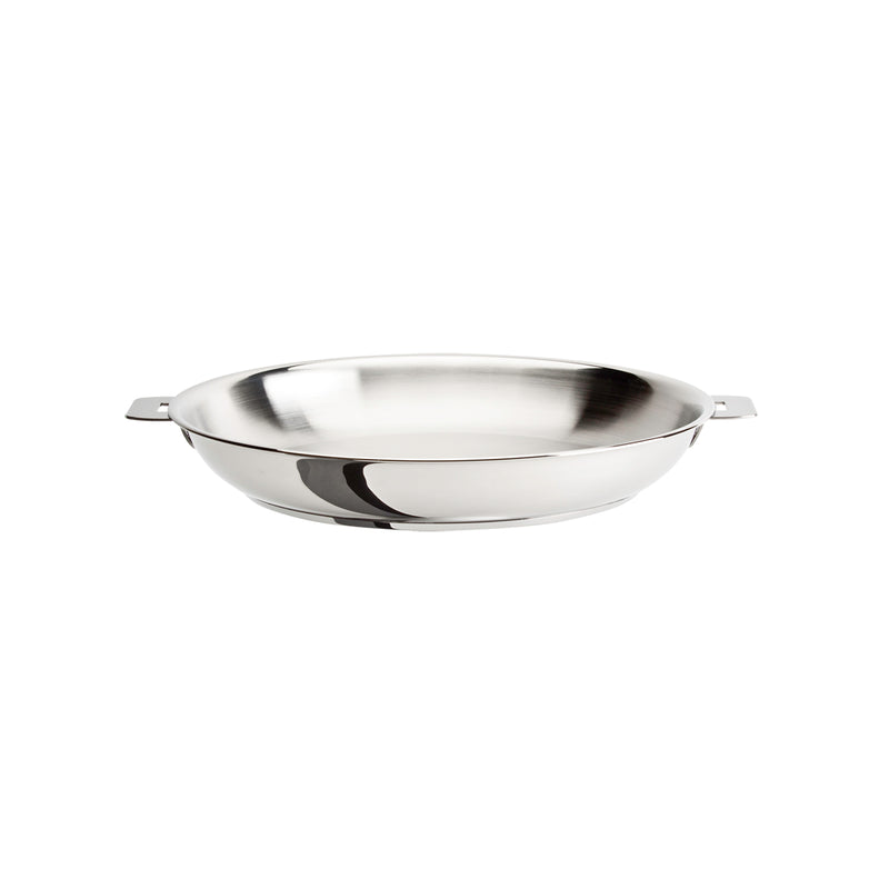 "Cristel Casteline Removable Handle - 8.5"" Stainless Steel Frying Pan"