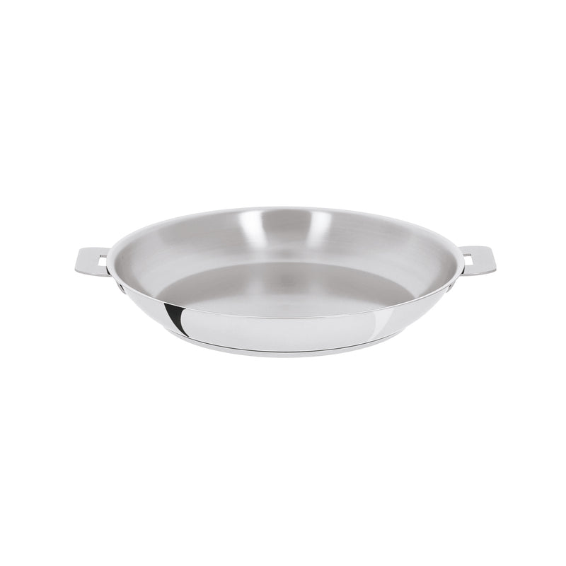 "Cristel Mutine Removable Handle - 8"" Stainless Steel Frying Pan"