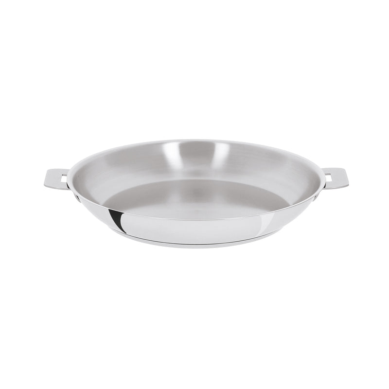 "Cristel Mutine Removable Handle - 8.5"" Stainless Steel Frying Pan"