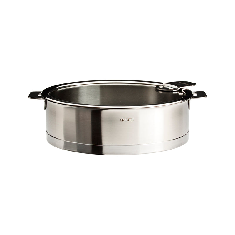 Cristel Strate Removable Handle - 2 Qt Saute Pan w/Lid