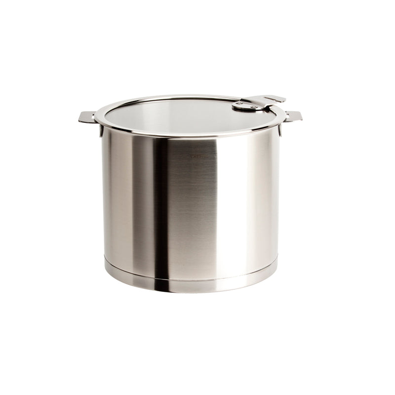 Cristel Strate Removable Handle - 5.5 Qt Stockpot w/Lid