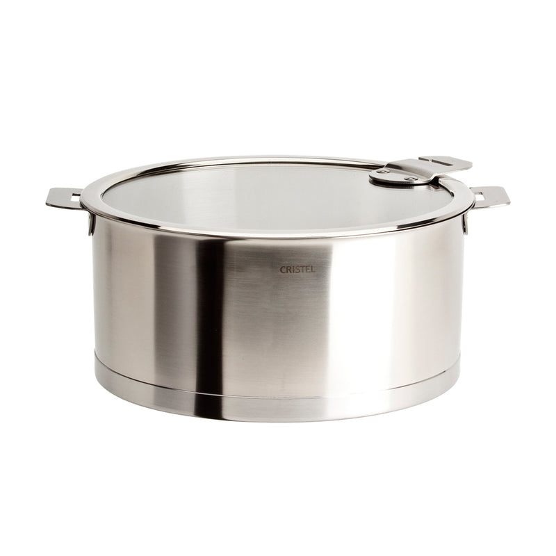Cristel Strate Removable Handle - 3 Qt Saucepan w/Lid