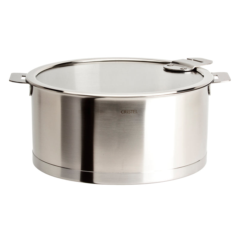 Cristel Strate Removable Handle - 5.5 Qt Stew Pan w/Lid