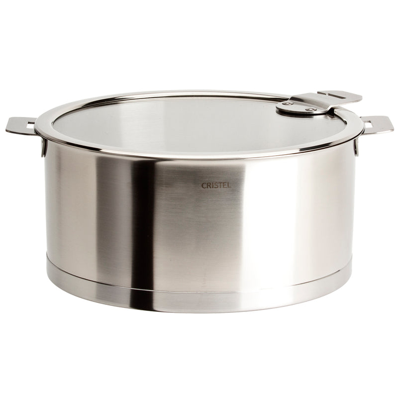 Cristel Strate Removable Handle - 7 Qt Stew Pan w/Lid
