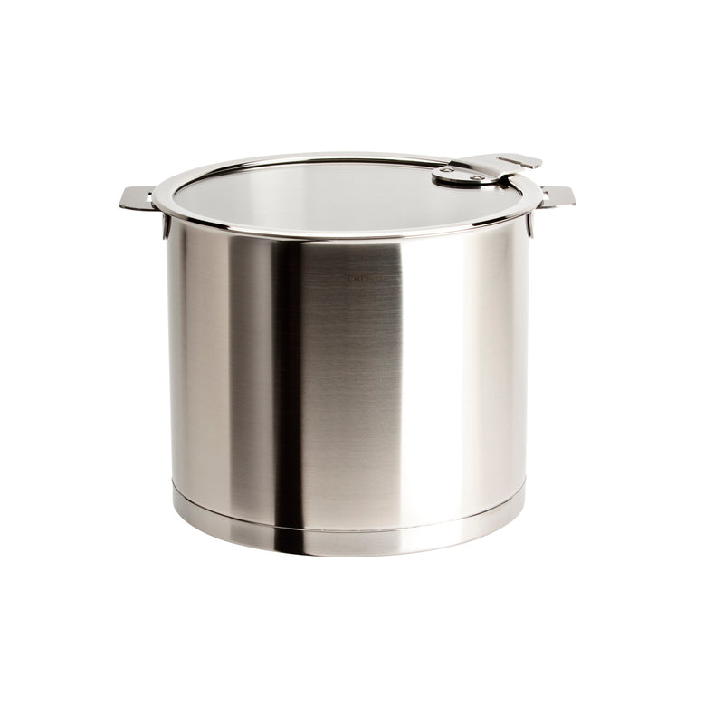 Cristel Strate Removable Handle - 10 Qt Stockpot w/Lid