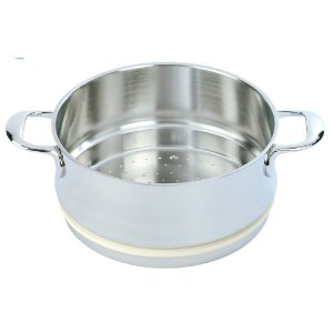 Demeyere Atlantis - 5.5 Qt Stainless Steel Stackable Steamer w/Silicone Gasket
