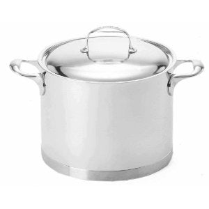 Demeyere Atlantis - 8.5 Qt Stainless Steel Stockpot with Lid