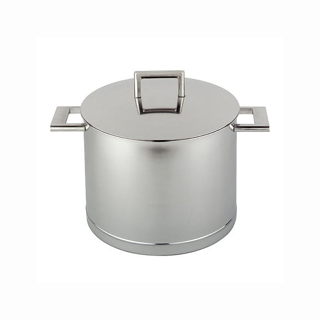 Demeyere John Pawson - 8.5 Qt Stainless Steel Stockpot with Lid
