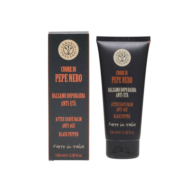 Erbario Toscano Black Pepper After Shave Balm - 100ml/3.38oz