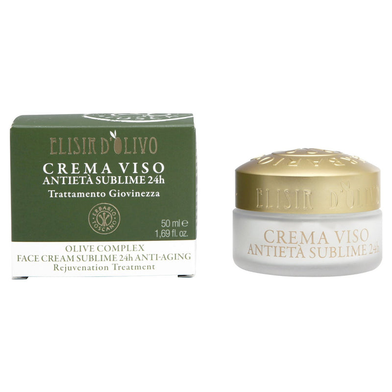 Erbario Toscano Olive Complex Anti-Aging Face Cream - 50ml/1.69oz