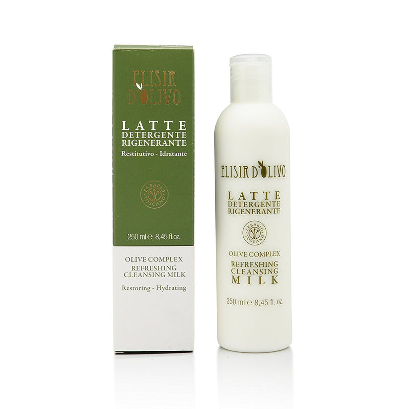 Erbario Toscano Olive Complex Cleansing Milk - 250ml/8.45oz