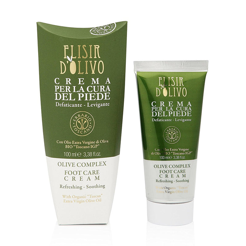 Erbario Toscano Olive Complex Foot Cream - 100ml/3.38oz