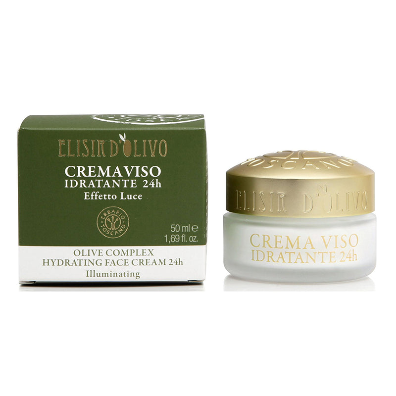 Erbario Toscano Olive Complex Hydrating Face Cream 24h - 50ml/1.69oz