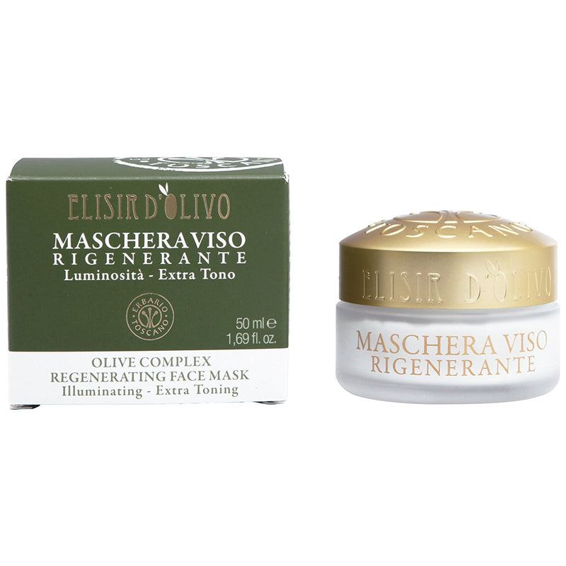 Erbario Toscano Olive Complex Regenerating Face Mask - 50ml/1.69oz