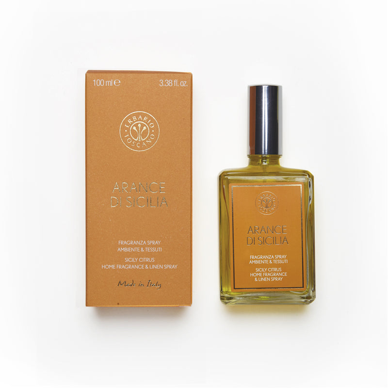 Erbario Toscano Sicily Citrus Home & Linen Spray - 100ml/3.38oz