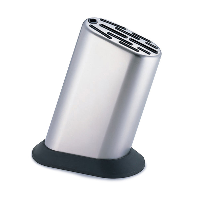 Global G-835/KB - 11 Slot Stainless Steel Knife Block