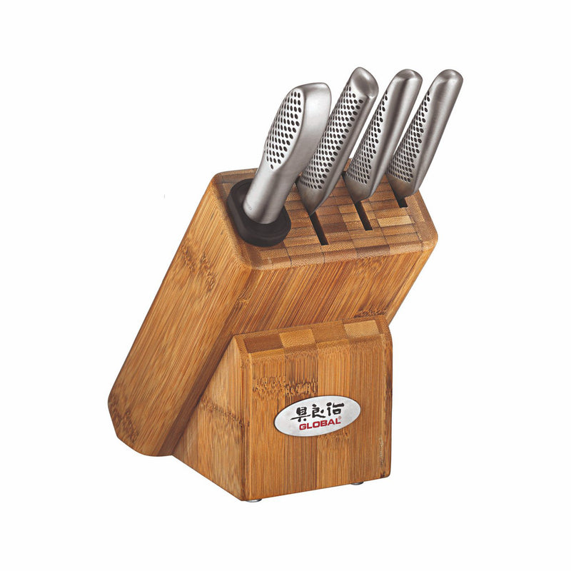 Global G-79598 - 5-Pc. Masuta Knife Block Set