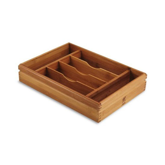 Henckels Bamboo Flatware Tray