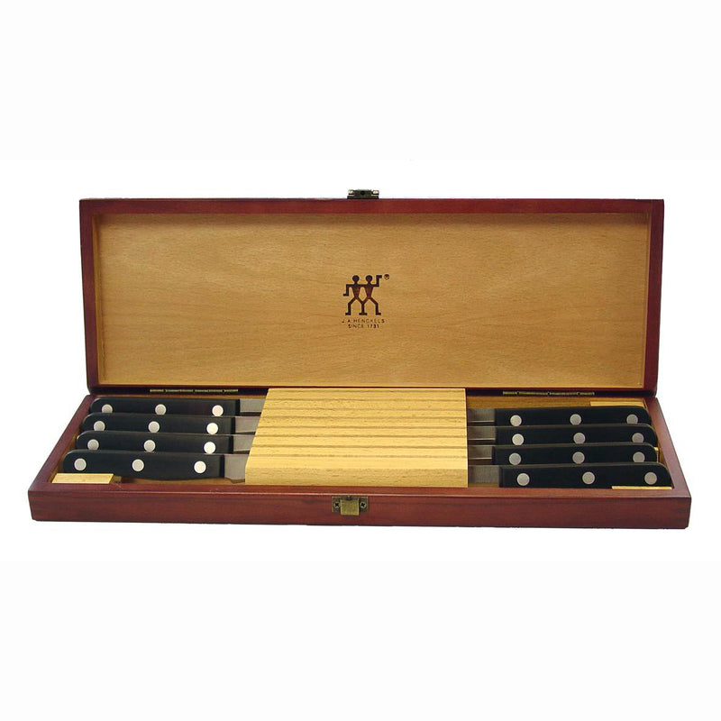 Henckels 8 PC Gourmet Steak Knife Set in Presentation Box