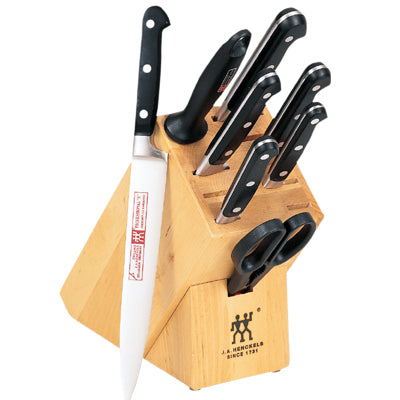 "Henckels Professional ""S"" - 9 PC Knife Block Set"