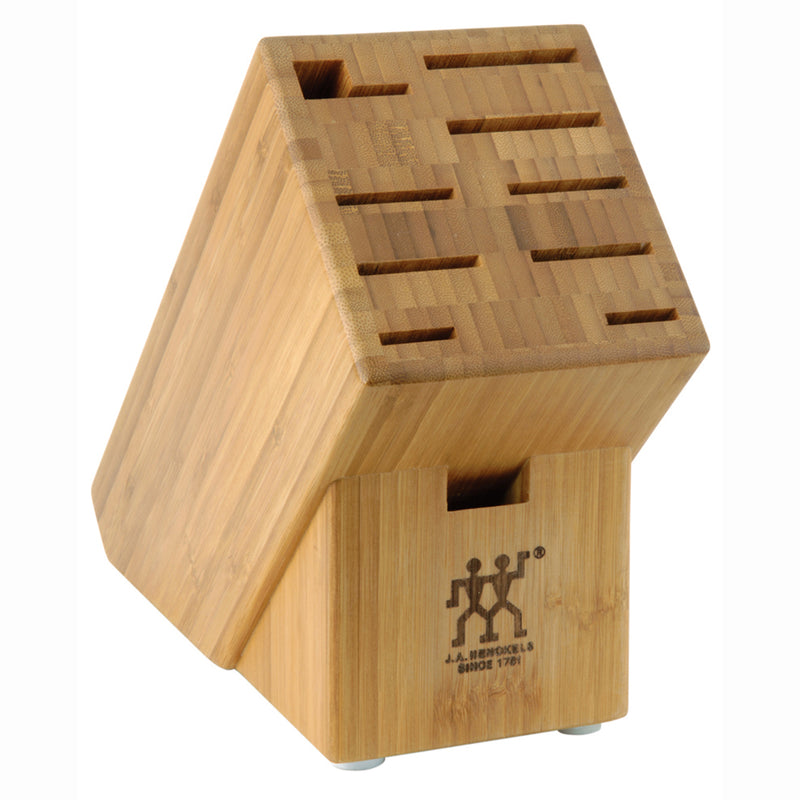 Henckels 10 Slot Bamboo Block