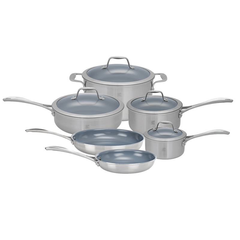 Henckels Twin Spirit - 10 Pc Cookware Set