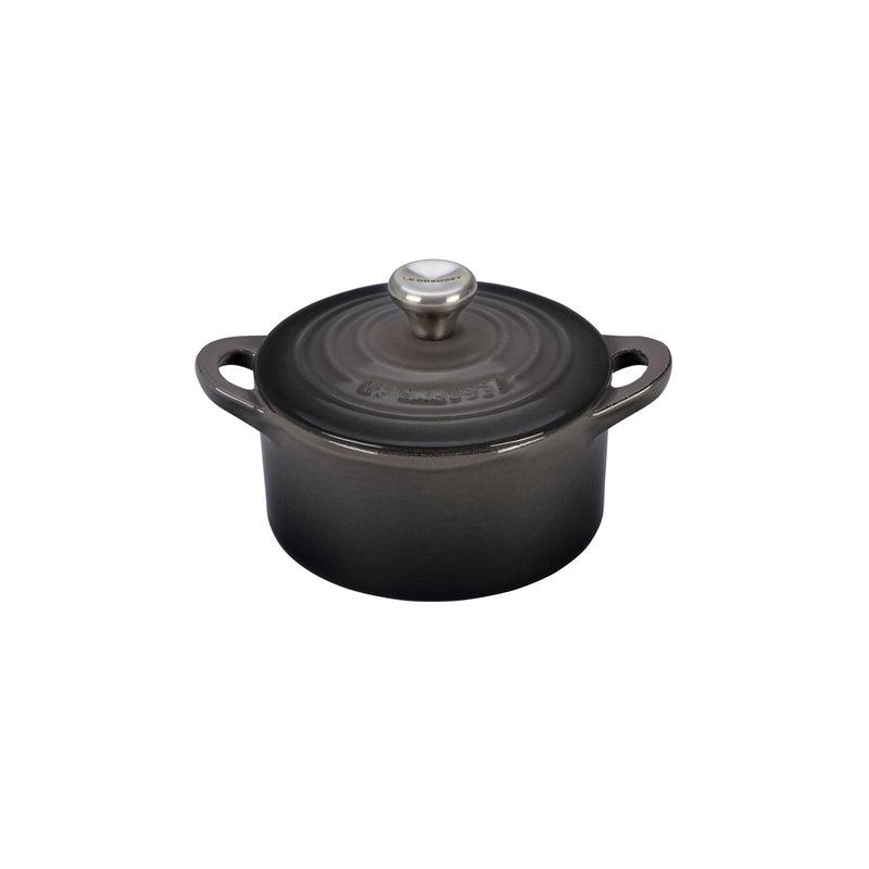 Le Creuset 1/3 Qt. Mini Cocotte w/Stainless Steel Knob - Oyster
