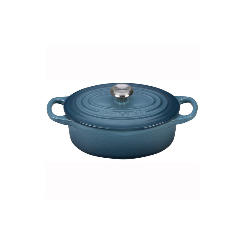 Le Creuset 1 Qt. Signature Oval Dutch Oven - Marine