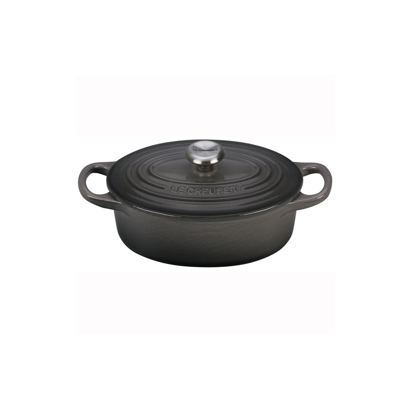 Le Creuset 1 Qt. Signature Oval Dutch Oven - Oyster