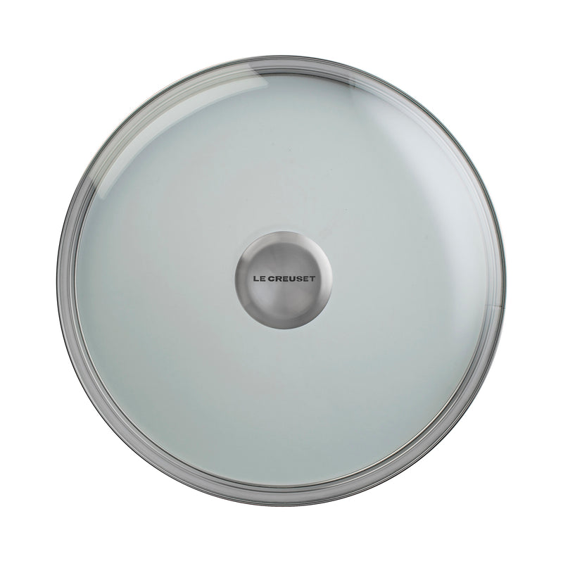 "Le Creuset 10"" Glass Lid w/Stainless Steel Knob"